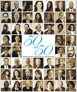50 Years of Alumni Success at John Jay College