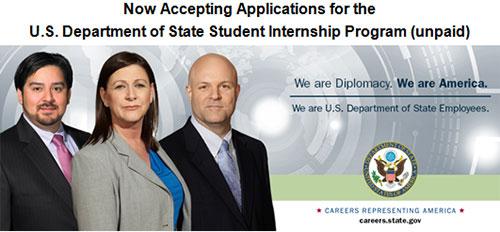 U.S. Department of State Student Internship Program
