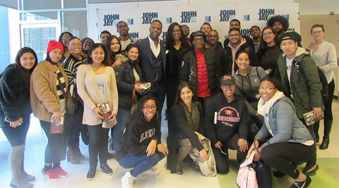 Spike Lee Discussion Group Picture