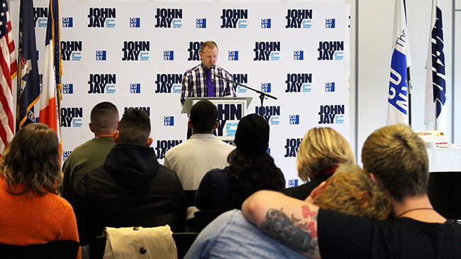 For Veterans Day, John Jay College is honoring its 530 enrolled veterans