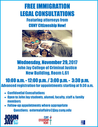 Free Immigration Legal Consultation November 29