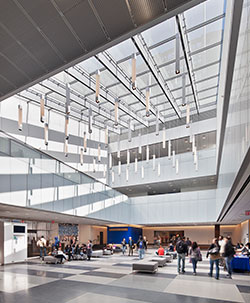 John Jay College interior