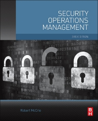 Security Operations Management 3rd ed, book cover