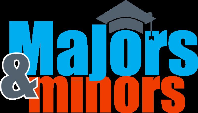 Majors & minors   Spring 2017