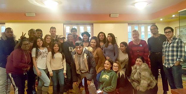 Cheryl Franks, SEEK Department. Event: Luncheon with EDU 100 Class