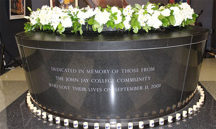 John Jay Remembers Alumni and Students Lost On 9/11