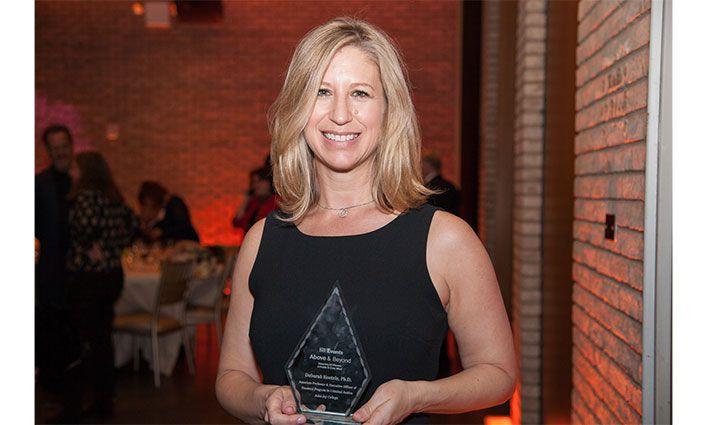 Deborah Koetzle, Associate Professor, Receives City & State New York Above & Beyond Award