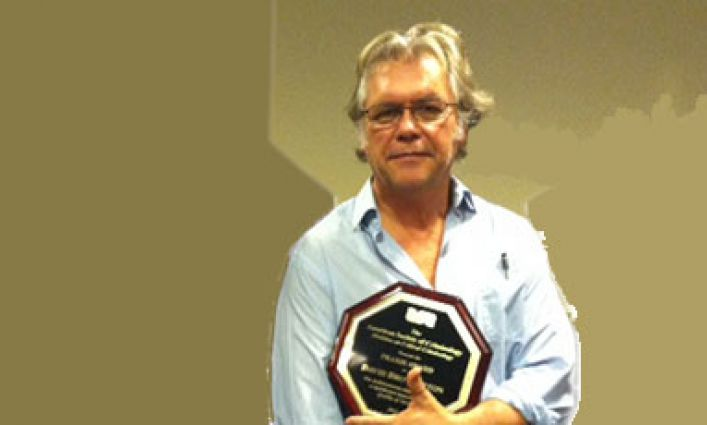 Professor Brotherton Honored at Annual Criminology Conference