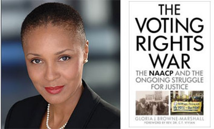 Faculty Profile: Professor Browne-Marshall and Ballot-Box Justice