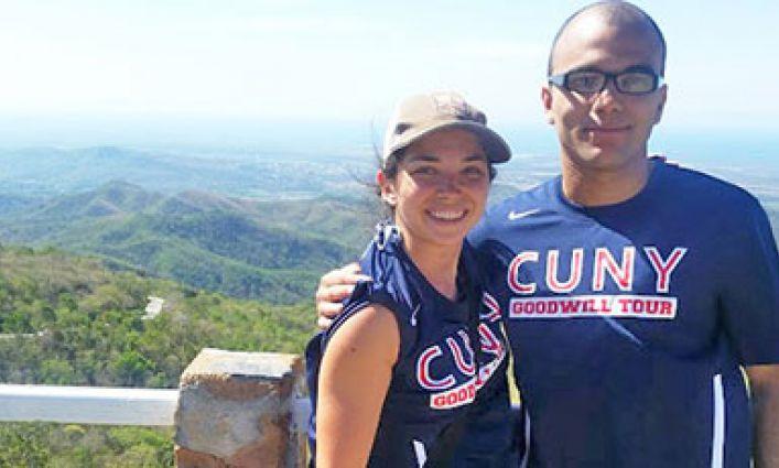 John Jay Athletics Spreads Good Will in Cuba Visit