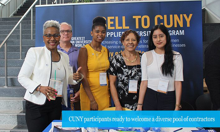 Celebrating Diversity at the CUNY & CUCF MWBE/SDVOB Contract Opportunities Conference