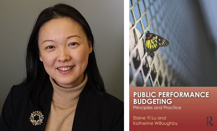 Professor Elaine Yi Lu Wins SWPA Award For Work in Public Administration