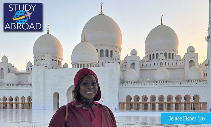 Je'nee Fisher '20 Deepens Her Understanding of Criminal Justice In the United Arab Emirates