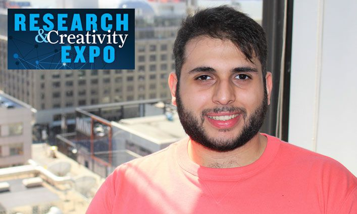 Research and Creativity Expo: Gabe Rahme '19 Advocates for Social Justice Through Photography