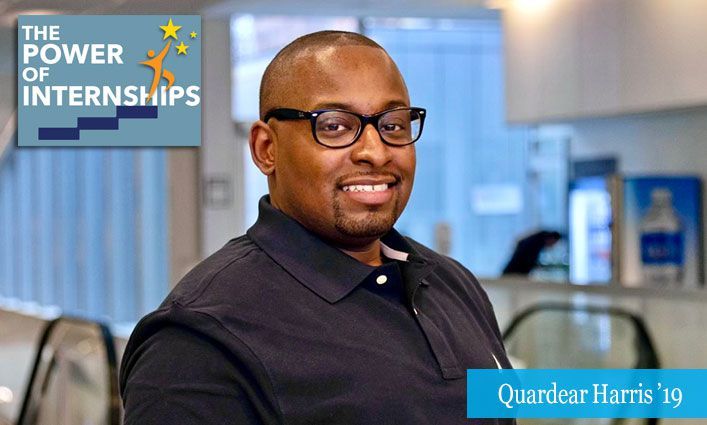 The Power of Internships: Alumnus Quardear Harris '19 Found His Perfect Career Path with a CUNY Service Corps Internship