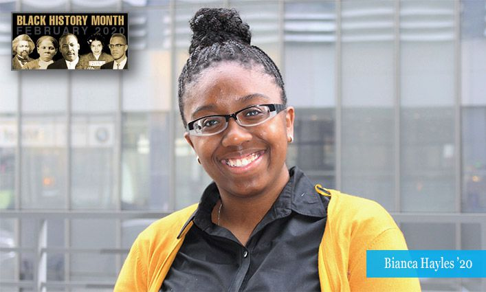 Malcolm/King Award Winner Bianca Hayles '20 Hopes to Advance Educational Equity and Criminal Justice Reform