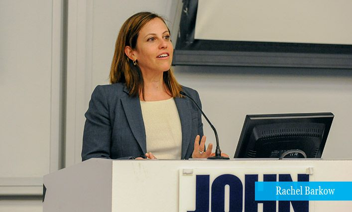 The Institute for Innovation in Prosecution Hosts Rachel Barkow Author of Prisoners of Politics