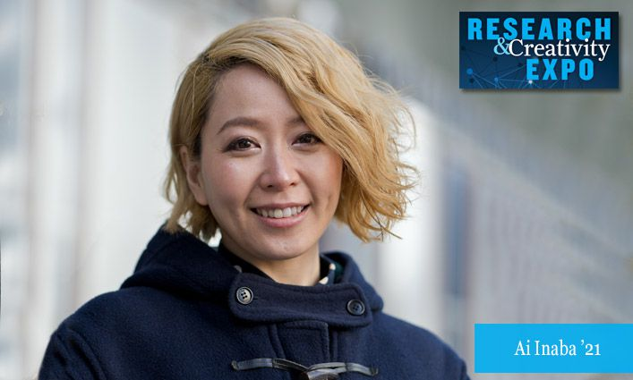 Research & Creativity Expo 2021: Ai Inaba '21 Researches Synthetic Peptide that Could Inhibit Deadly Toxin Ricin Used in Biological Weapons