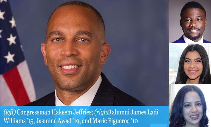 Congressman Hakeem Jeffries Joins the John Jay Community for an In-depth Conversation