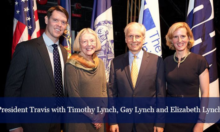 Scholarship Celebrates Legacy of Former President Lynch