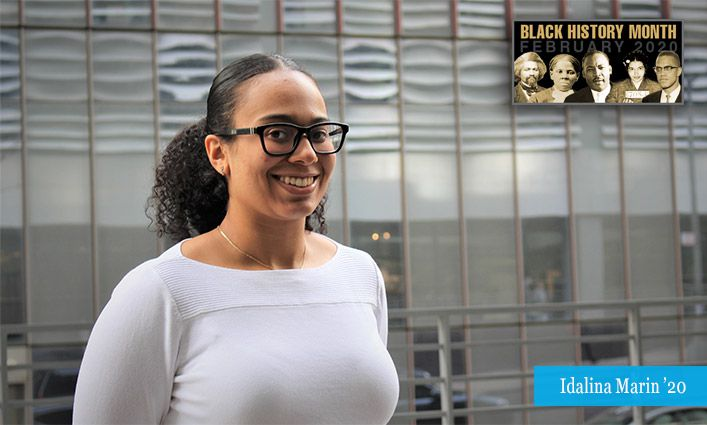 Malcolm/King Award Winner Idalina Marin '20 Looks to Improve STEM Programs in New York City Public Schools