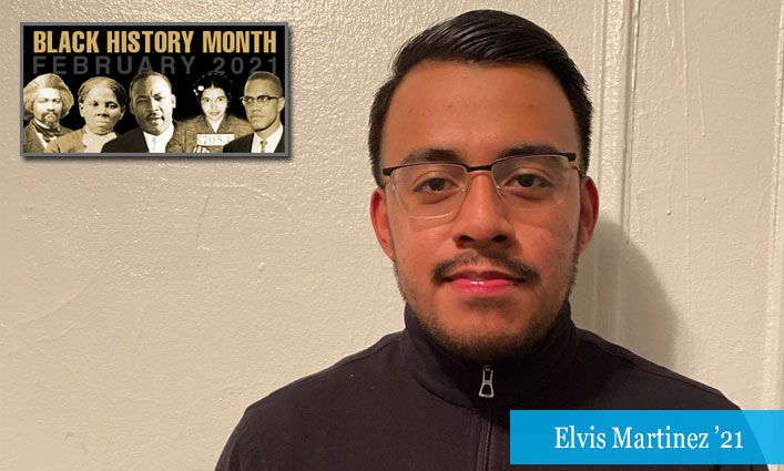 Malcolm/King Award Winner Elvis Martinez '21 Aspires to Uplift Underserved Communities Through Equitable Resources