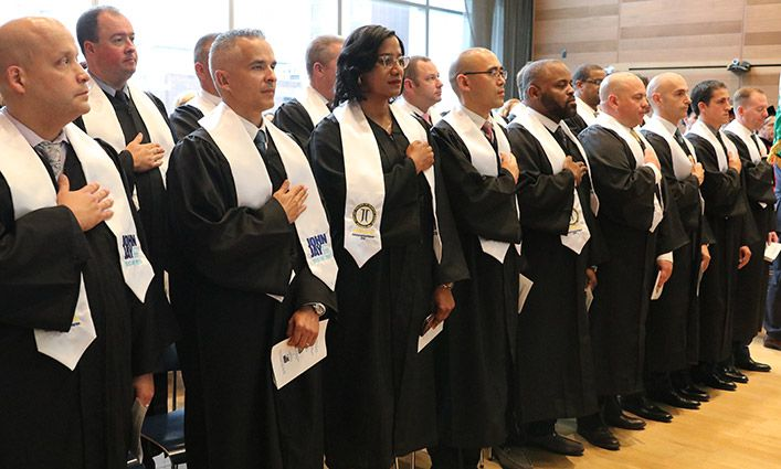 Executive Master's Program in Criminal Justice Inaugural Graduation