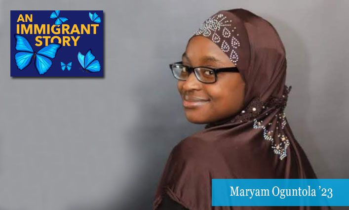 An Immigrant Story: Maryam Oguntola '23 Finds a Welcoming Community at John Jay