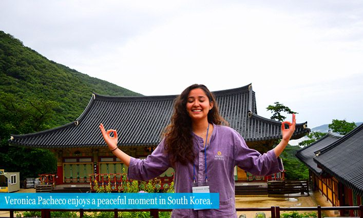 Alumna Veronica Pacheco '18 Deepens Her Understanding Of the World Through Travel