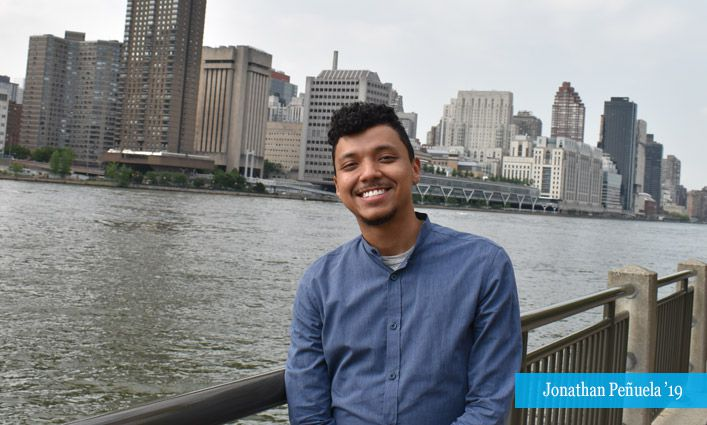 Urban Fellow Jonathan Peñuela '19 Aims to Uplift Underrepresented Communities