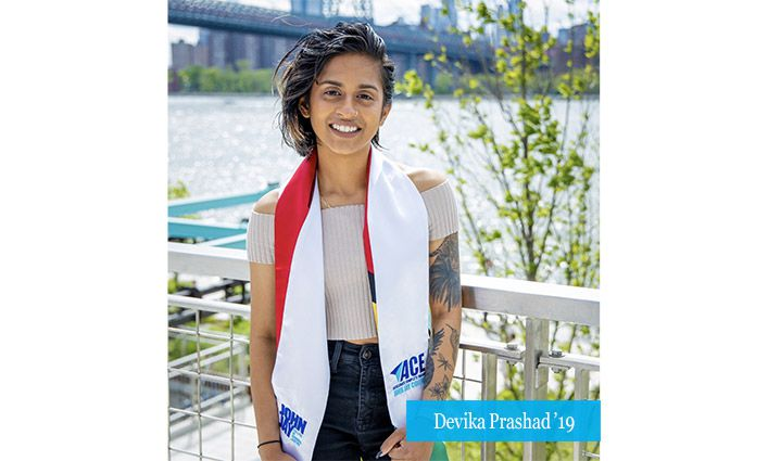Alumna Devika Prashad '19 Fondly Looks Back At Her Time in ACE