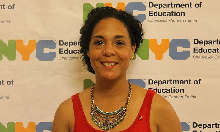 Alumna Rosario Orengo Has Received Prestigious Big Apple Award from NYC DOE