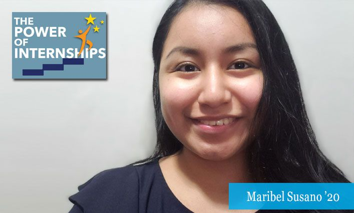 The Power of Internships: By Interning with Safe Passage Project and Justice Francois Rivera, Maribel Susano '20 Sets Her Sights on a Law Career