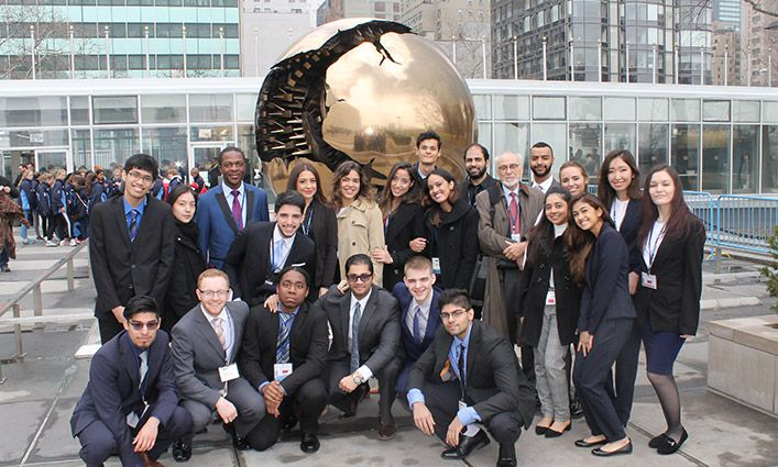 John Jay Wins Honorable Delegation Award at the 2018 National Model U.N. Conference