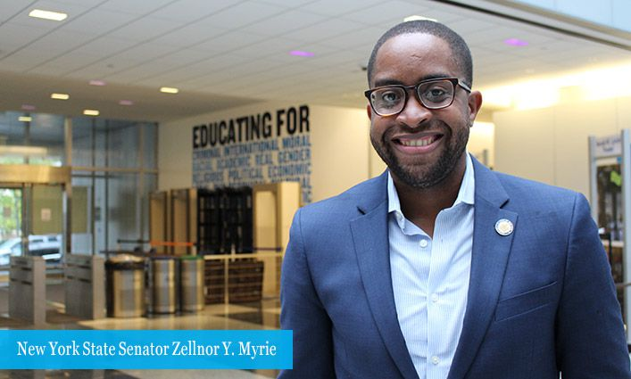 New York State Senator Zellnor Y. Myrie Champions Increased Voter Participation