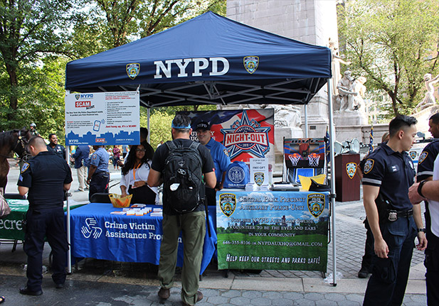 A NYPD stand