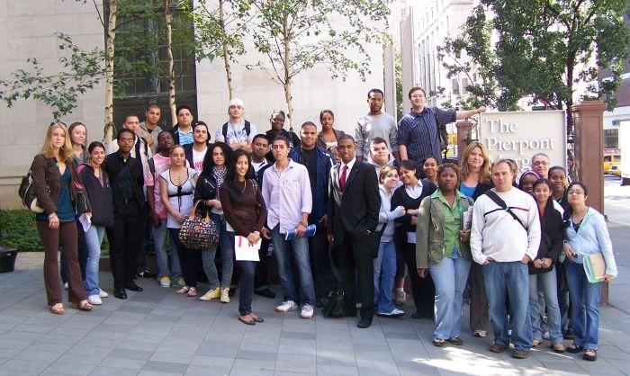 The Pierpont Morgan Library field trip, 2009