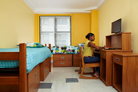 New Yorker housing bedroom