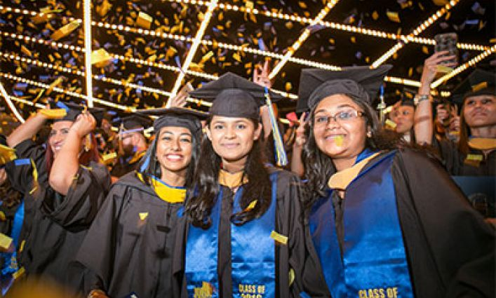 COMMENCEMENT SPOTLIGHT SHINES ON CLASS OF 2016