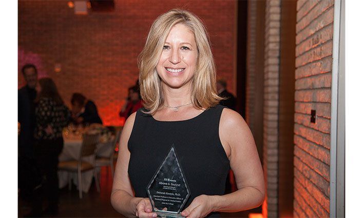 Deborah Koetzle, Associate Professor, Receives City & State New York Above & Beyond Award