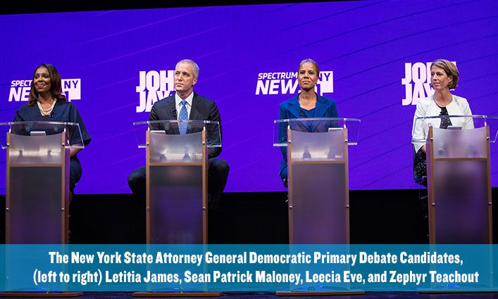 NY State Attorney General Democratic Primary Debate  Through The Eyes of John Jay Students