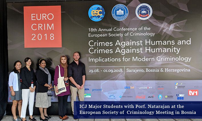 John Jay Students Present at International Criminology Conference in Bosnia