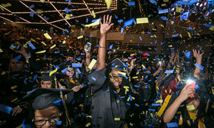 Commencement Spotlight Set to Shine on Class of '16