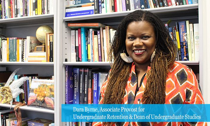 Dara Byrne, Associate Provost and Dean of Undergraduate Studies, Explores The Future of Minority Serving Institutions