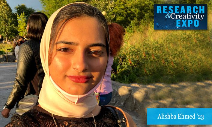 Research & Creativity Expo 2021: Alishba Ehmed '23 Investigates the Impact on Siblings when a Parent Dies