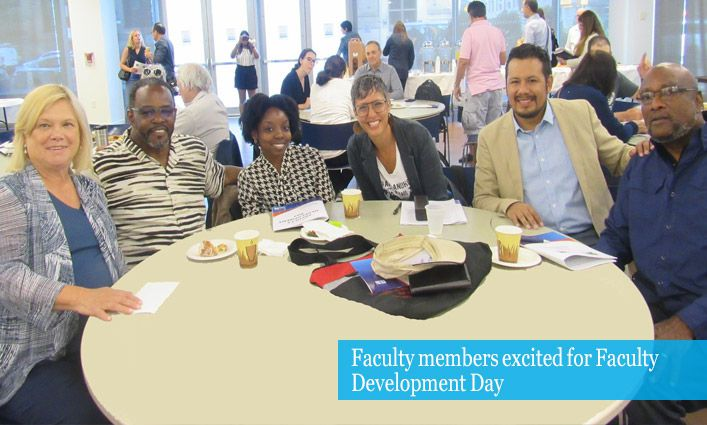 Fall 2019 Faculty Development Day Encourages Building a Student-Centered College
