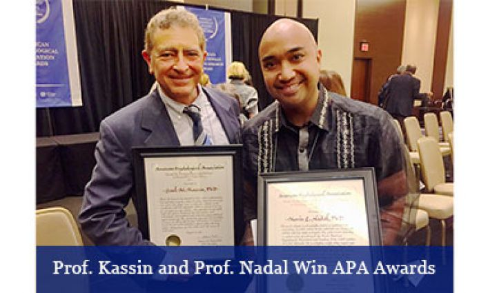 High APA Honors for Psychology Faculty