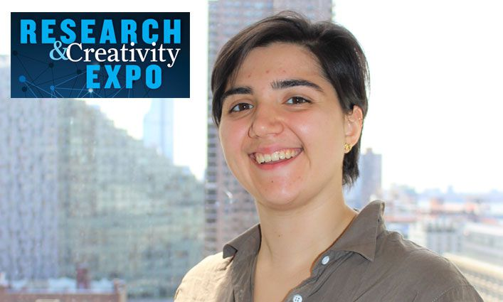 Research and Creativity Expo: Nicole Centazzo '19 Aspires to Use Science to Help Communities