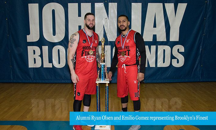 NYPD Holds Championship Game at John Jay