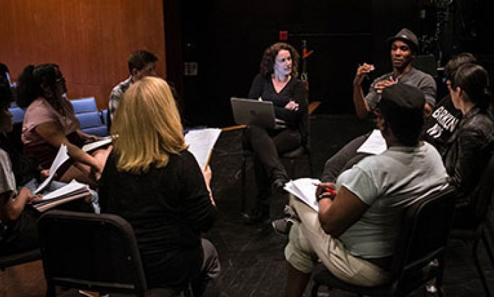 Student Playwrights Go Face-to-Face with Sexual Violence